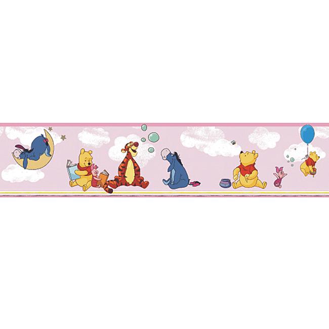 Disney Deco Tapeten-Bordüre 3501-2 Selbstklebend Winnie Pooh Borte ...