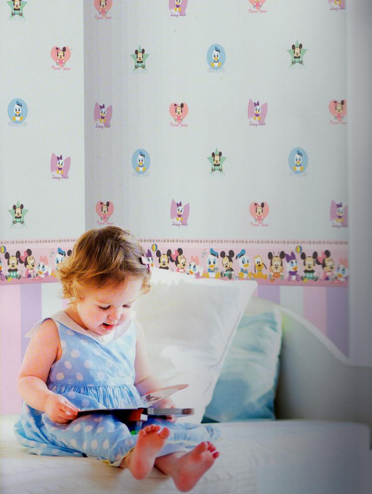 disney deco tapeten bord re 3500 1 selbstklebend mickey friends 3 09 euro m ebay. Black Bedroom Furniture Sets. Home Design Ideas