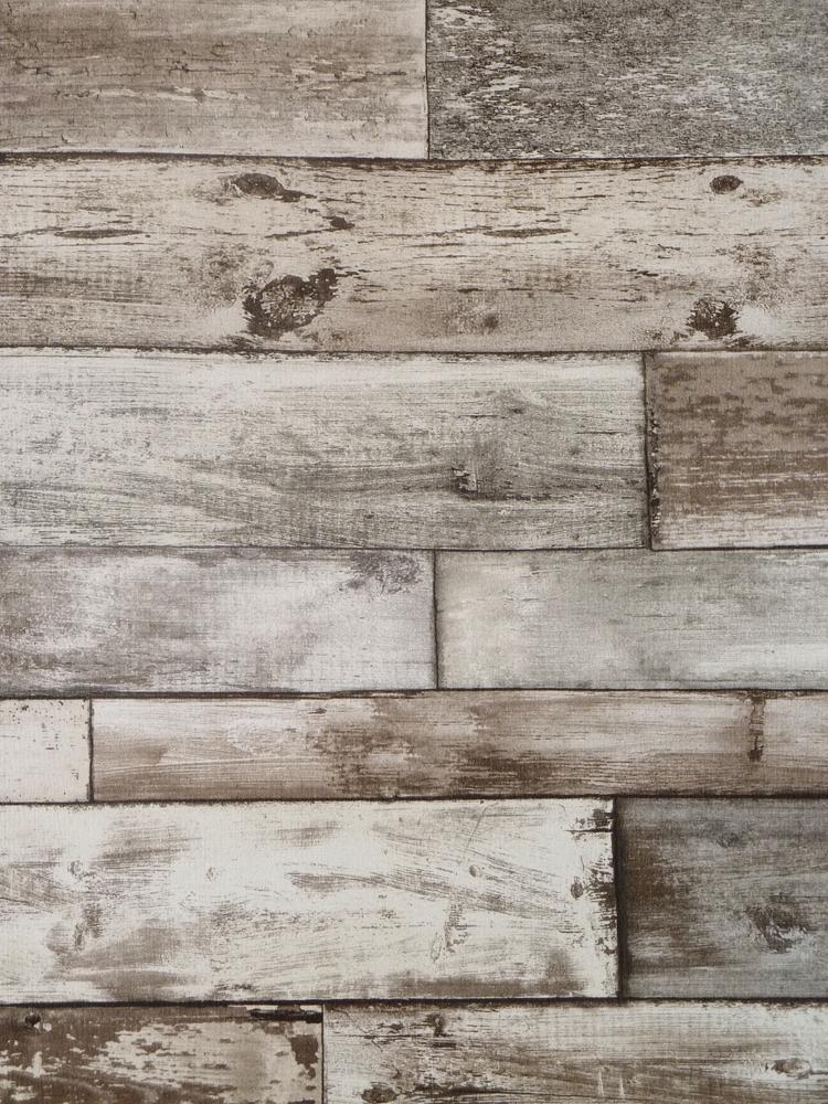 Authentic Tapete 7319-10 Holz-Wand Bretter grau-braun Struktur (1.91 Euro/m²)  eBay