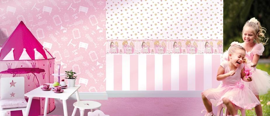 bim bum bam vlies tapete kinderzimmer tapete 002201 m bel. Black Bedroom Furniture Sets. Home Design Ideas