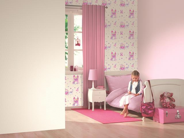 Kinderzimmer Tapeten Prinzessin : Dieter 4 Kid'z Kinderzimmer-Tapete 05492-10 Prinzessin (2.31 Euro pro