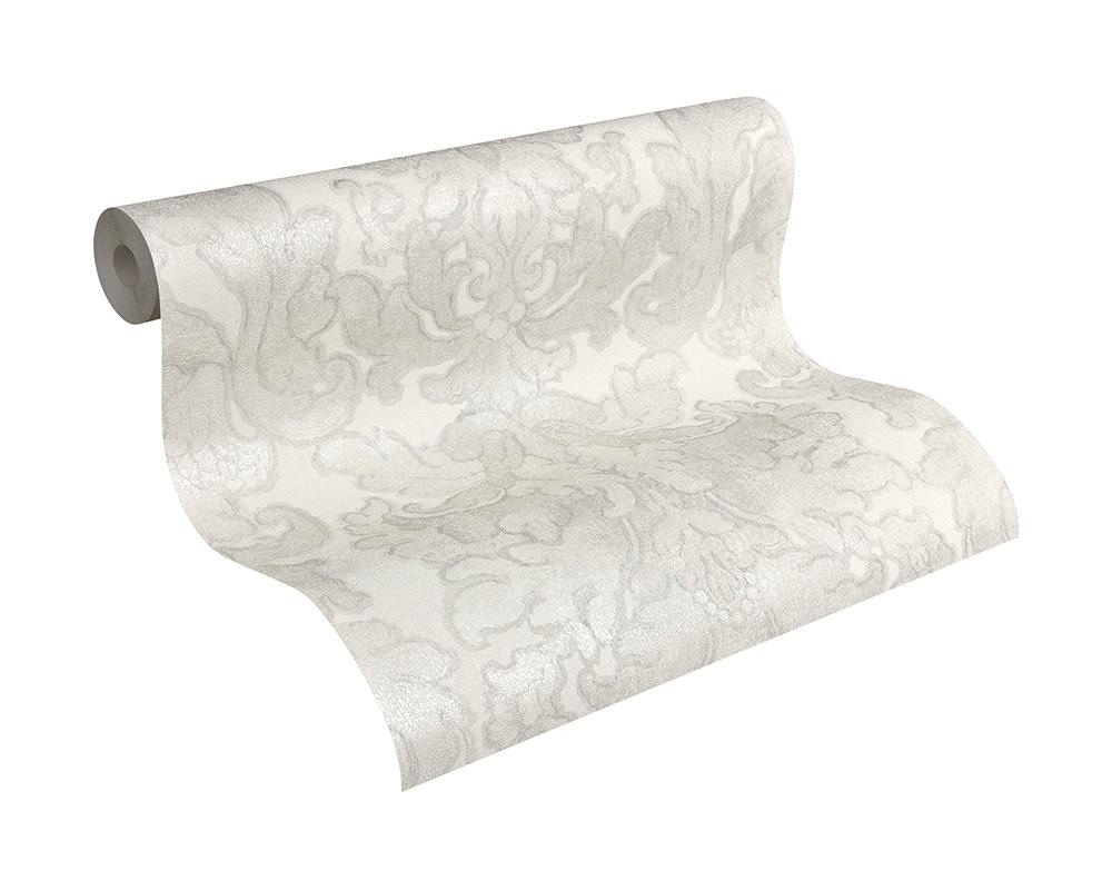 papier peint blanc et gris papier peint intiss impression la craie zigzag chevrons gris clair. Black Bedroom Furniture Sets. Home Design Ideas