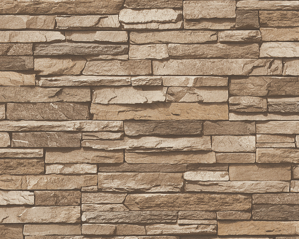Selbstklebende Tapete Bauhaus : Amazon Faux Stone Wallpaper 3D