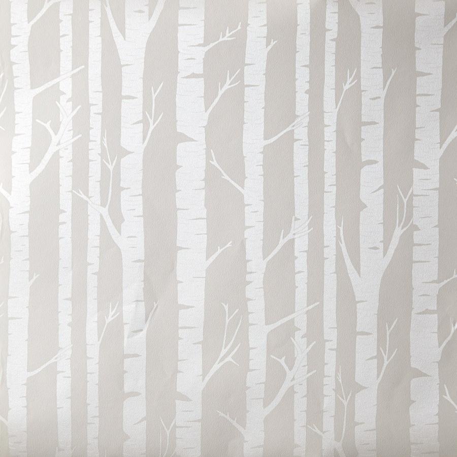 OHLALA Kinderzimmer Tapete OLA 6627 9099 Bäume Zauberwald beige ...