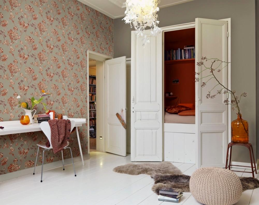 florentine vlies tapete 449211 floral rispen wildblumen. Black Bedroom Furniture Sets. Home Design Ideas