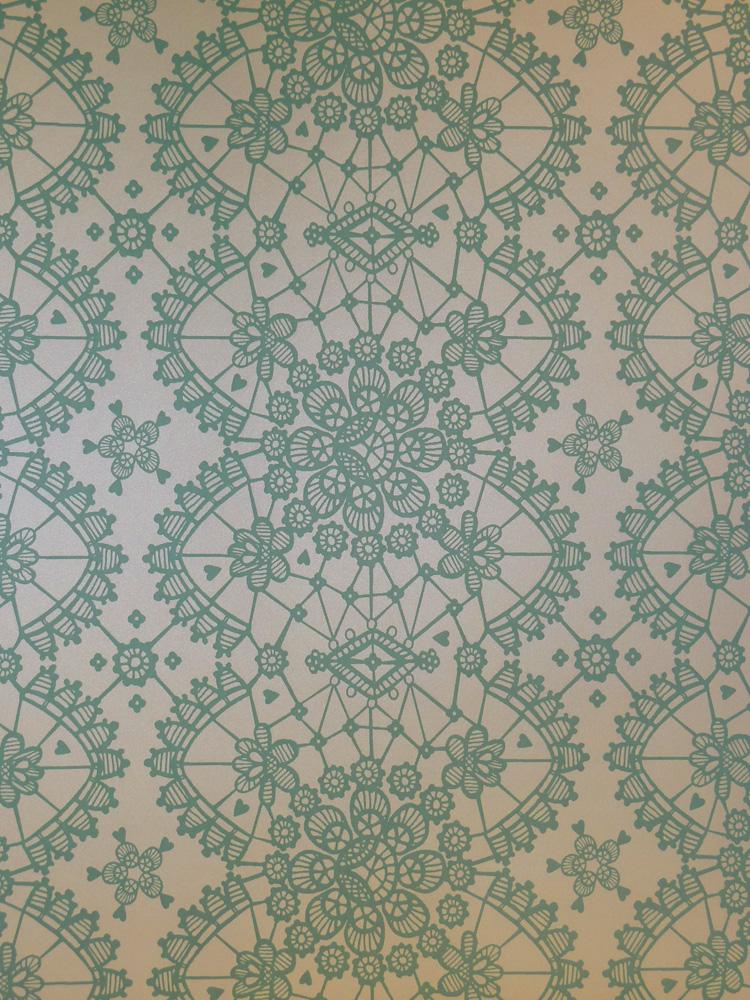 Rice everyday magic fieltro papel pintado 359013 floral for Papel pintado grueso