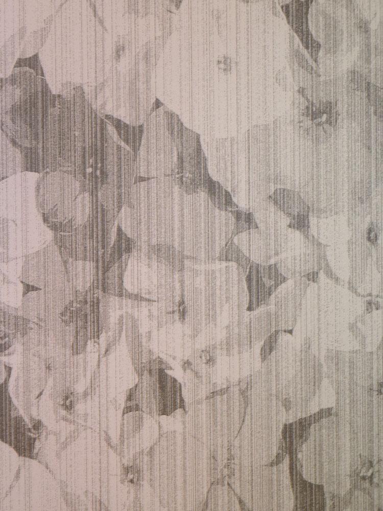 Bloom Fleece Wallpaper 340070 Floral pink-grey ( per m² ...