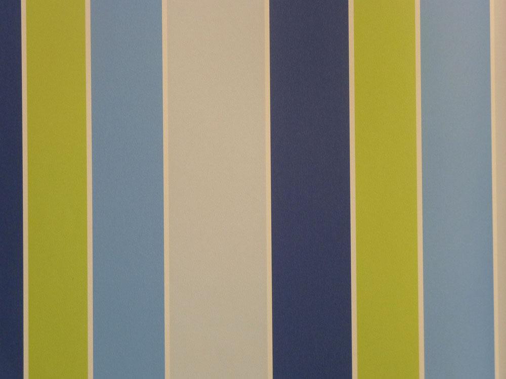 Tiny Tots Kinderzimmer Tapete G45100 Block Streifen Grün Blau Grau /3.58