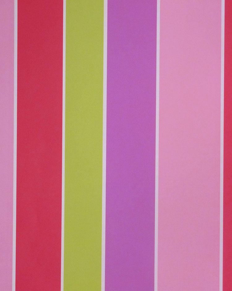 tiny tots kinderzimmer tapete g45101 streifen pink gr n lila rosa euro m ebay. Black Bedroom Furniture Sets. Home Design Ideas