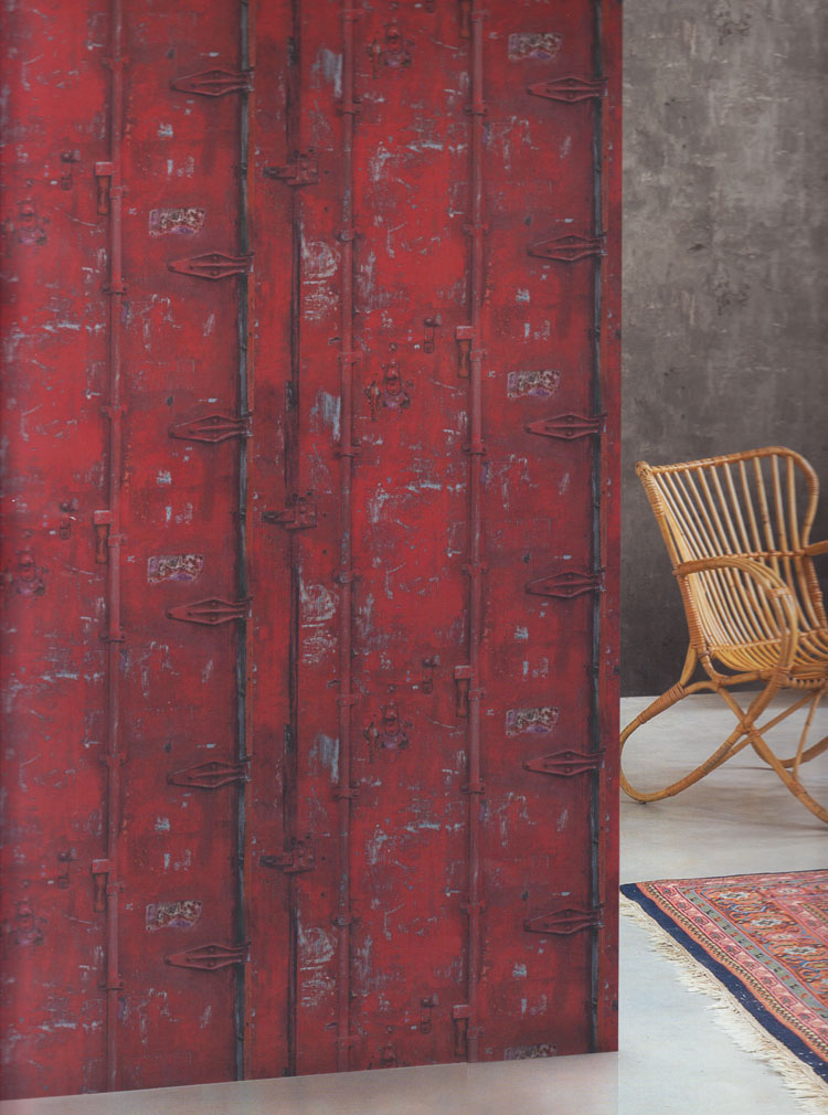 Deco4walls exposed warehouse fleece wallpaper ew 3202 for Fleece tapete