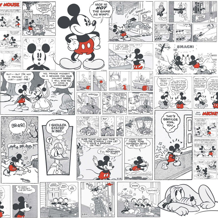 comics more kinderzimmer tapete 3011 3 mickey mouse euro pro m ebay. Black Bedroom Furniture Sets. Home Design Ideas