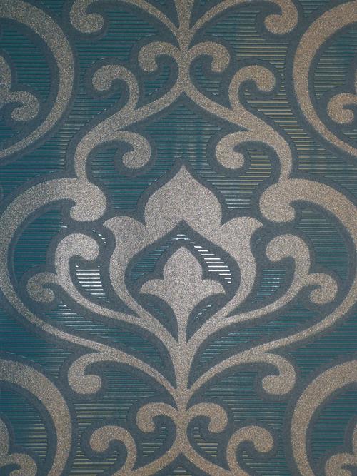 queens 2013 tapete vlies tapeten 795028 ornamente t rkis