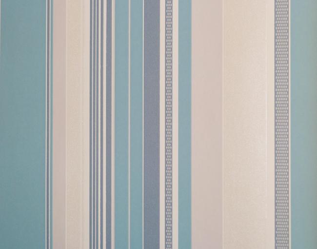 queens 2013 tapete vlies tapeten 795820 streifen t rkis wei euro pro m ebay. Black Bedroom Furniture Sets. Home Design Ideas