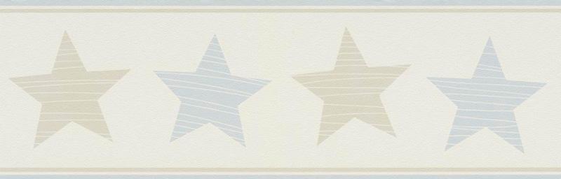 bambino xvii tapeten-bordüre kinderzimmer-borte 245714 sterne