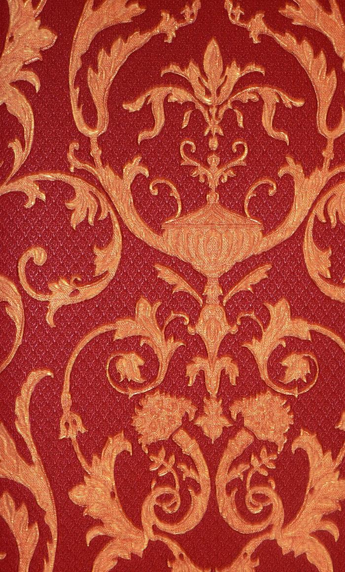 ornamenta edel barock tapete vinyl ornamente 95505 rot gold euro pro m 8012453955051 ebay. Black Bedroom Furniture Sets. Home Design Ideas