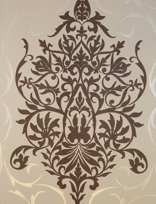 tapeten braun beige ~ kreative deko-ideen und innenarchitektur - Tapeten Braun Beige