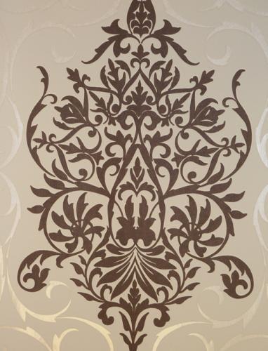 queens 2013 tapete vlies tapeten 796148 ornamente braun beige. Black Bedroom Furniture Sets. Home Design Ideas