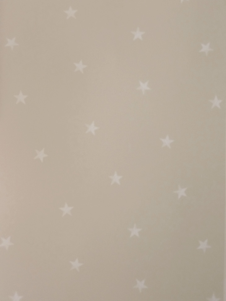 Kinderzimmer sterne beige  Carousel Kinderzimmer-Tapete DL21108 Sterne beige (4.29 Euro pro m² ...