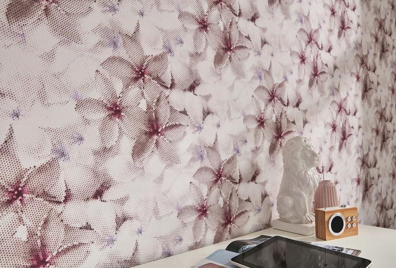 guido maria kretschmer tapete trend 02469 10 floral blumen. Black Bedroom Furniture Sets. Home Design Ideas