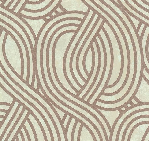 Carat Vlies Tapete Grafik Beige Braun Glitzernd 13345 40 Von P+S (5.06  Euro/m²)