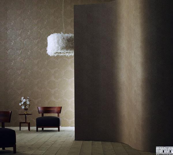 villanova tapete vlies tapeten 51025 schlangenmuster braun euro pro m ebay. Black Bedroom Furniture Sets. Home Design Ideas