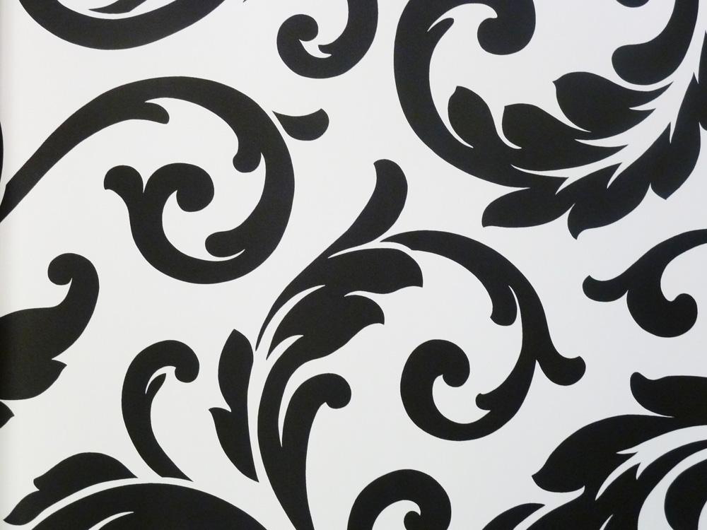 Sombras papel pintado de vinilo vg26237p blanco y negro for Papel vinilo blanco