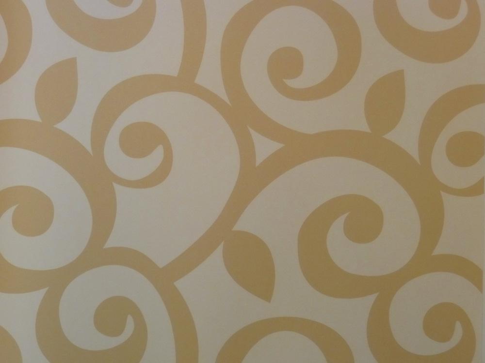 Sombras papel pintado de vinilo sh34510 entrelazar ocre - Papel pintado y vinilo ...