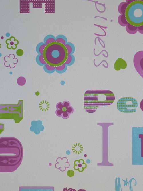 Kinderzimmer Tapete Vlies : Kids'Club 2014 Kinderzimmer-Tapete Vlies 478419 Love (3.37 Euro pro