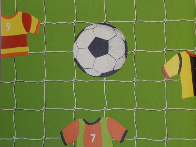 Kinderzimmer Tapete Vlies : Kids'Club 2014 Kinderzimmer-Tapete Vlies 471700 Fu?ball (3.37 Euro