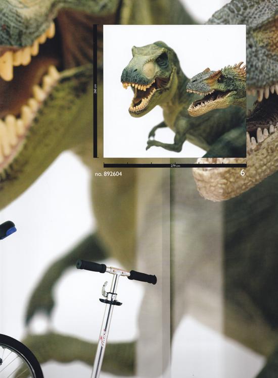 Rasch Tapeten Magic Walls : Magic Walls Vlies-Fototapete Dinosaurier 279 x 260 cm (26.21 Euro pro