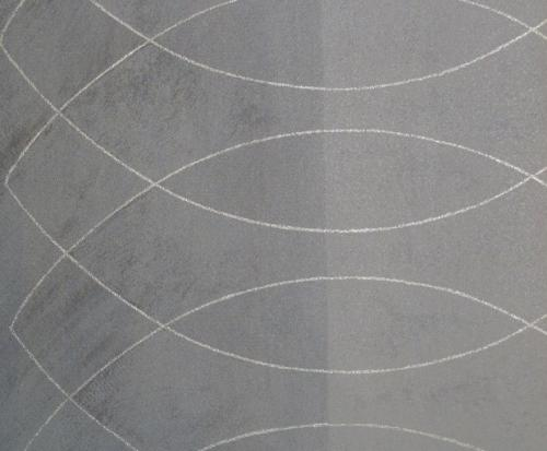 andante pria vlies tapete wellen 52926 grau silber euro pro m ebay. Black Bedroom Furniture Sets. Home Design Ideas