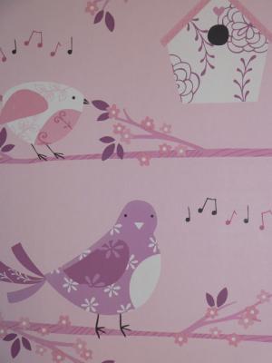 just 4 kids vlies tapete kinderzimmer v gel rosa g56005 euro pro m ebay. Black Bedroom Furniture Sets. Home Design Ideas