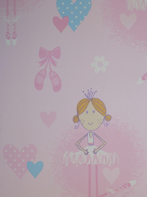 Just 4 kids vlies tapete kinderzimmer ballerina g56002 7 for Ballerina bilder kinderzimmer