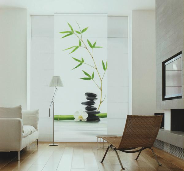 Deco home raumteiler nature in balance 100 x 240 cm ebay for Dekorationsartikel wohnung