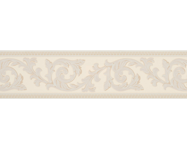 borders 7 wallpaper border blumenmuster cream 906212 self