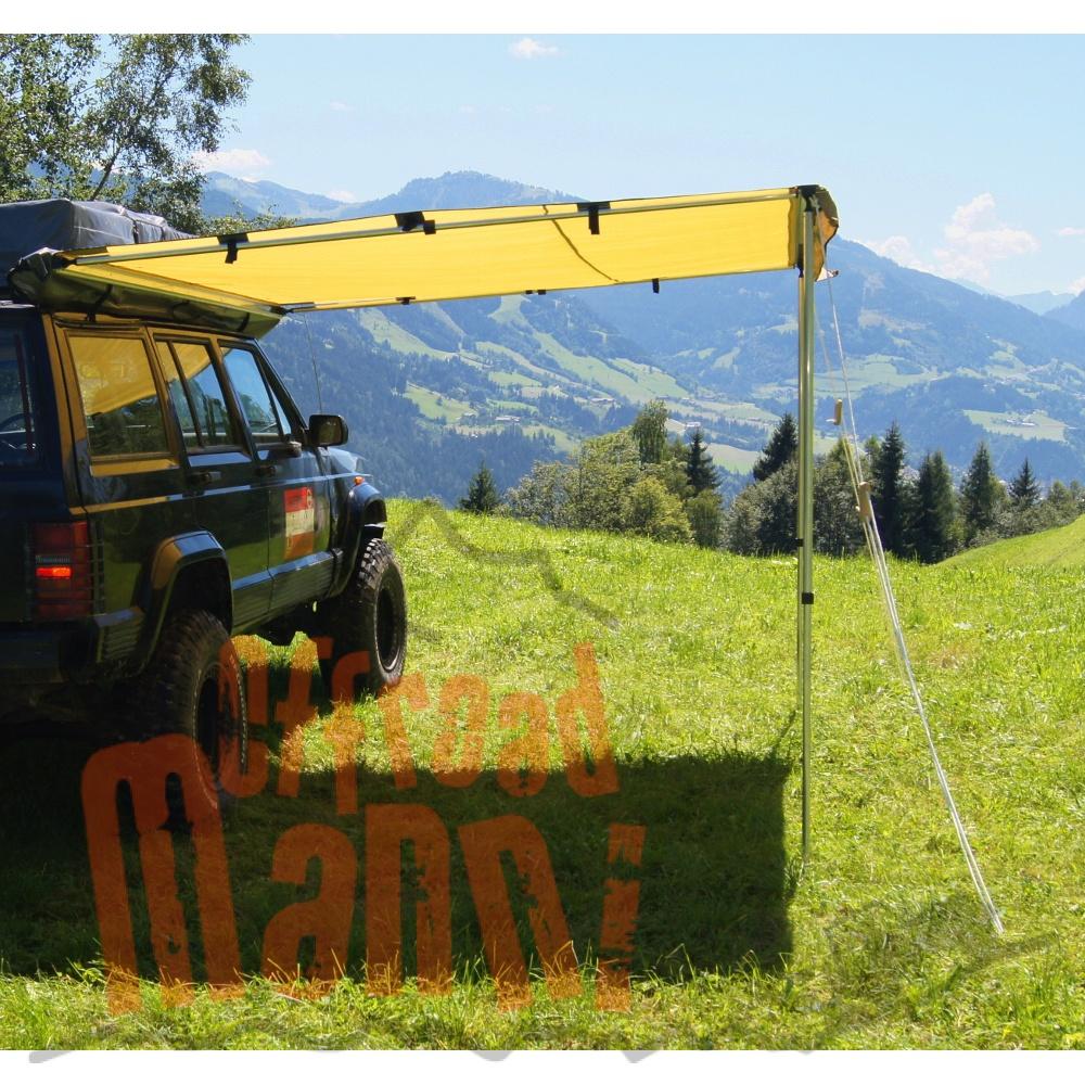 Auto Markise 2x2 5m Sonnensegel Sonnendach Vordach