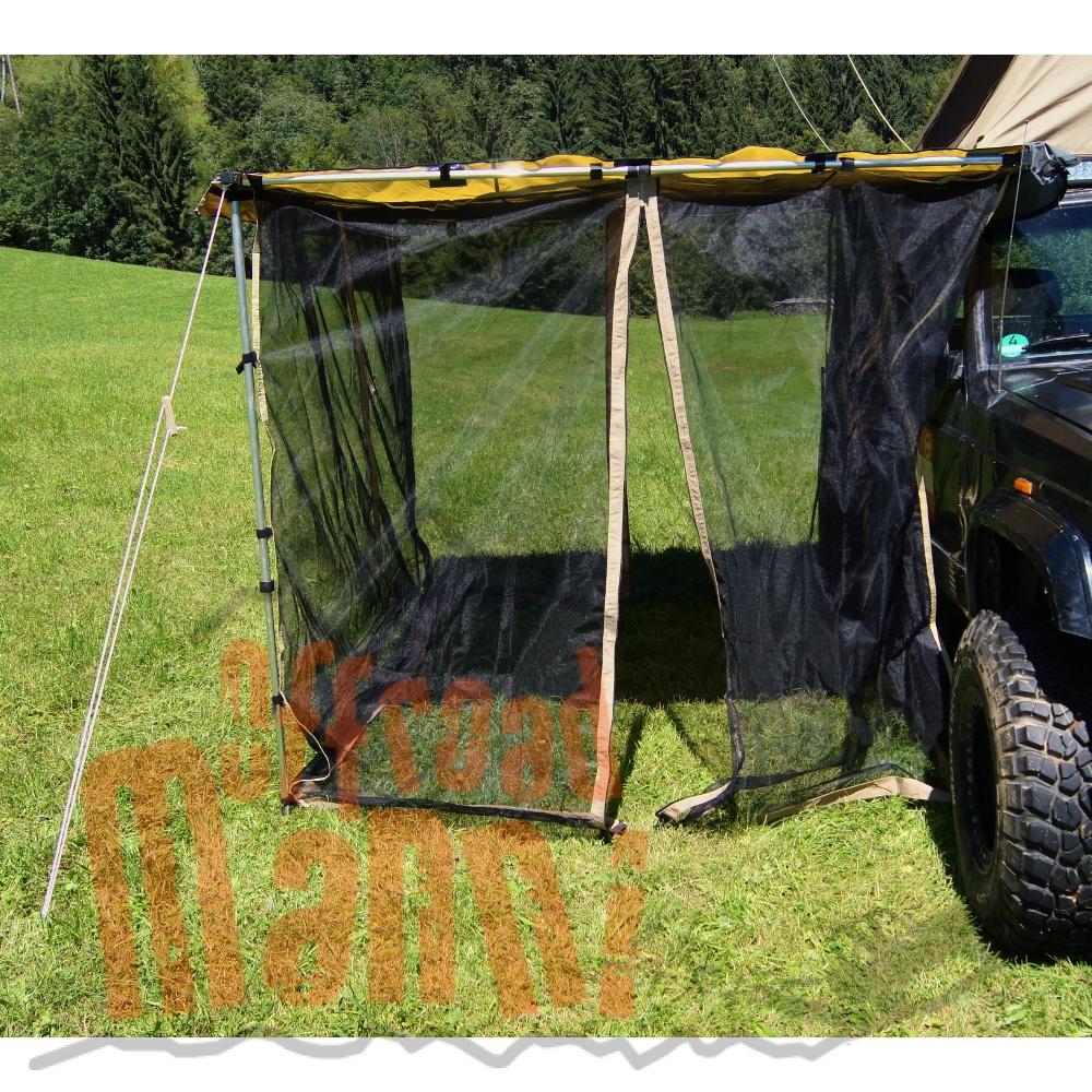 moskito netz fliegengitter f r auto markise 2x2 5m. Black Bedroom Furniture Sets. Home Design Ideas