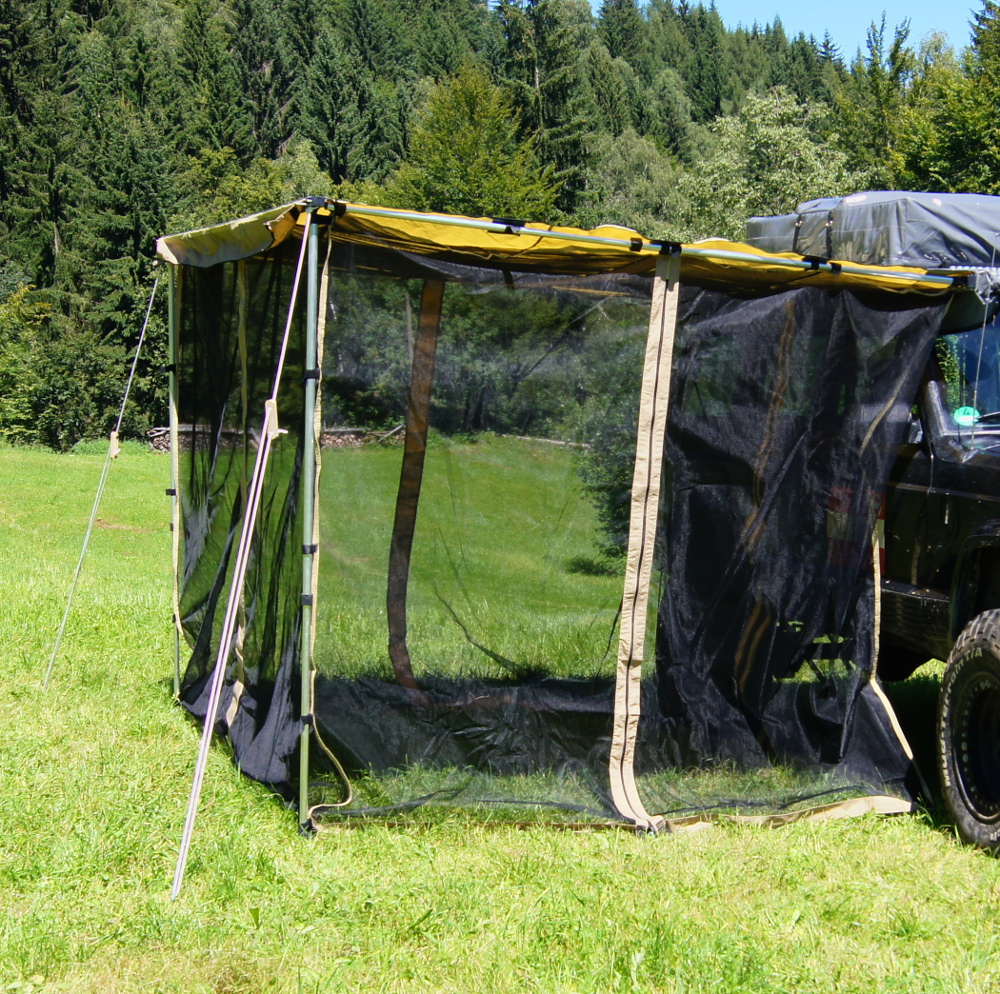 Moskito Netz Fliegengitter F R Auto Markise 2x2 5m