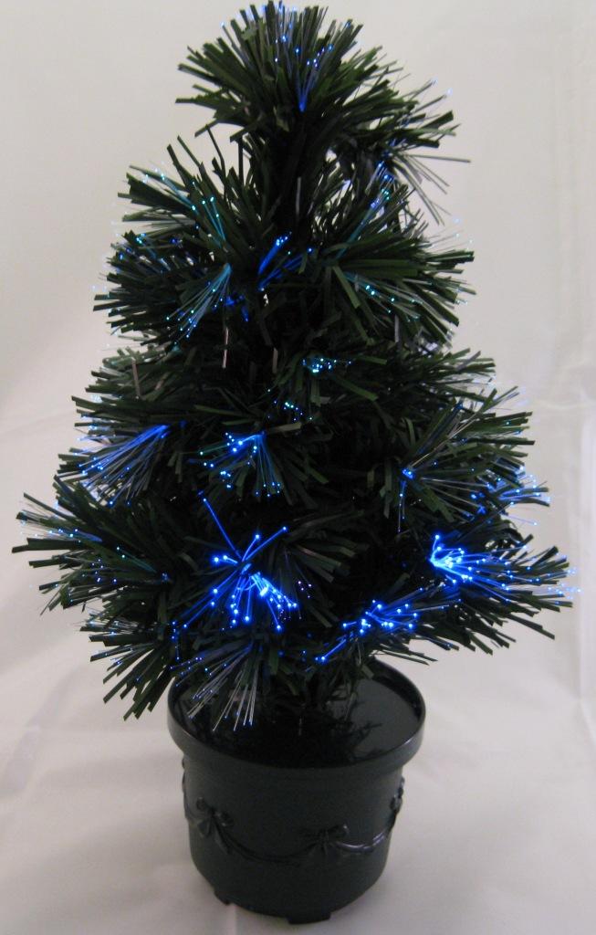 gro er led weihnachtsbaum tannenbaum 45cm mit glasfaser. Black Bedroom Furniture Sets. Home Design Ideas