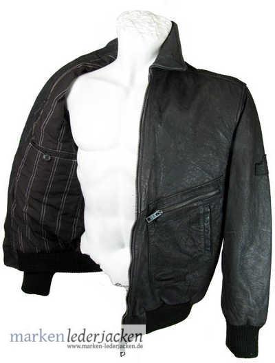 camel active mens leather jacket 4256 genuine leather. Black Bedroom Furniture Sets. Home Design Ideas