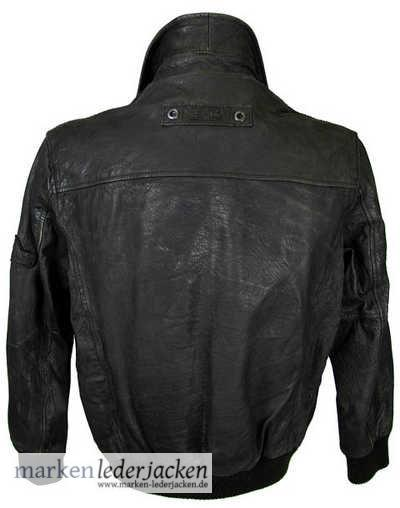 camel active mens leather jacket 4256 genuine leather. Black Bedroom Furniture Sets. Home Design Ideas