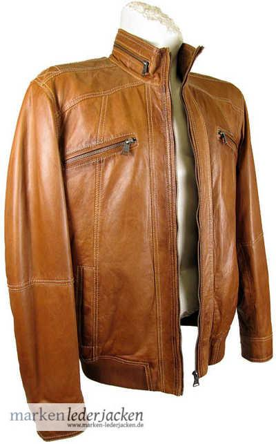pierre cardin herren lederjacke 4314 echtleder jacke lammnappa cognac neu ebay. Black Bedroom Furniture Sets. Home Design Ideas