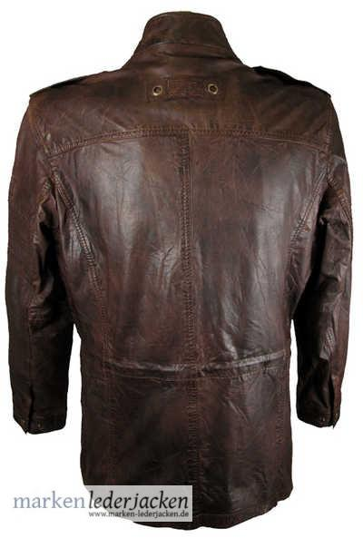 camel active mens leather jacket 4798 genuine leather. Black Bedroom Furniture Sets. Home Design Ideas
