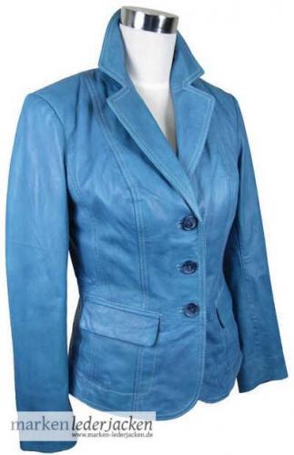 julia s roma damen lederjacke 5790 echtleder blazer jacke. Black Bedroom Furniture Sets. Home Design Ideas