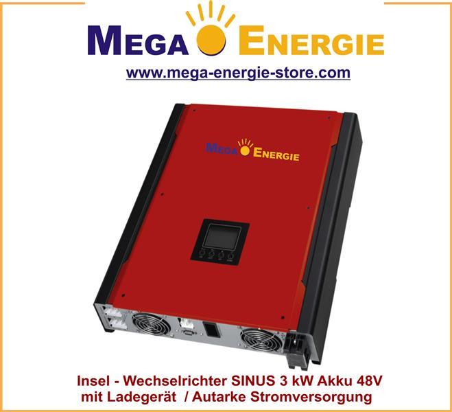 wechselrichter sinus solar vx serie 3 kw 48v batteriespannung ebay. Black Bedroom Furniture Sets. Home Design Ideas
