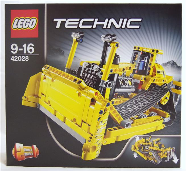 lego 42028 technic bulldozer neu ovp ebay. Black Bedroom Furniture Sets. Home Design Ideas
