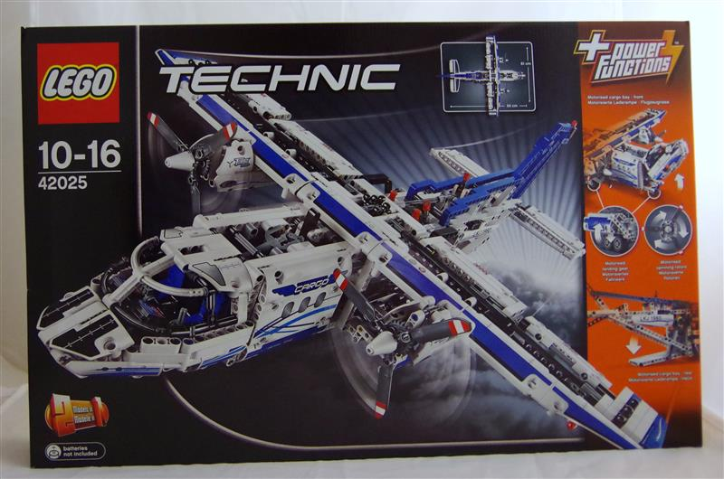 lego technic 42025 frachtflugzeug neu ovp ebay. Black Bedroom Furniture Sets. Home Design Ideas