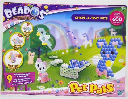beados bindeez pet pals mit 600 wasser perlen sprayer stift vorlagen platten ebay. Black Bedroom Furniture Sets. Home Design Ideas
