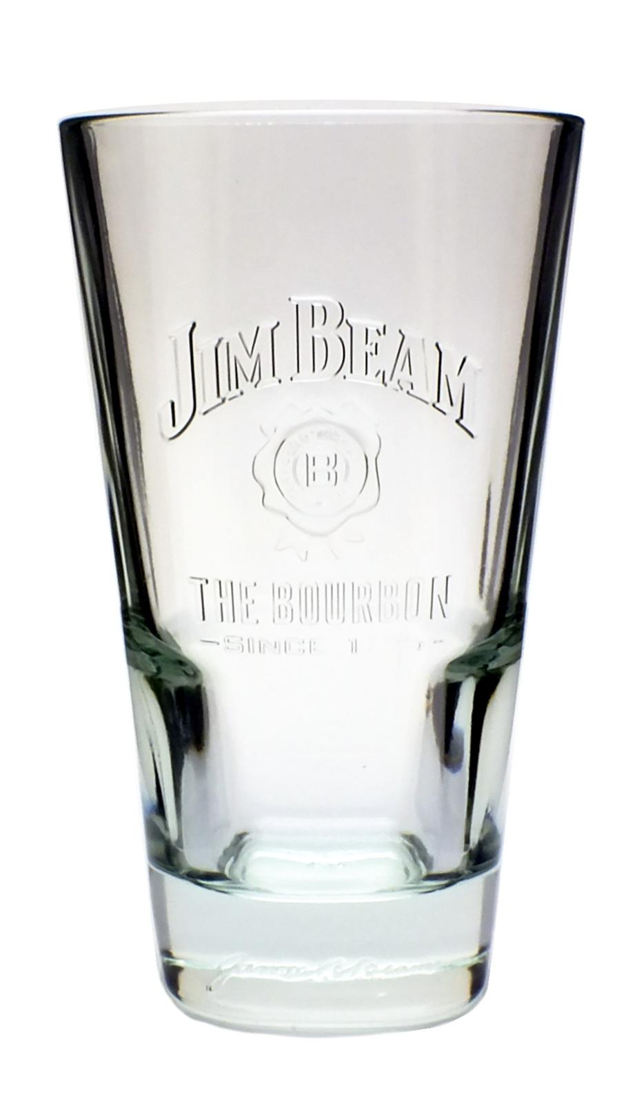 6 piece jim beam long drink glasses 2cl 4cl 6 set whiskey coke glass ebay. Black Bedroom Furniture Sets. Home Design Ideas