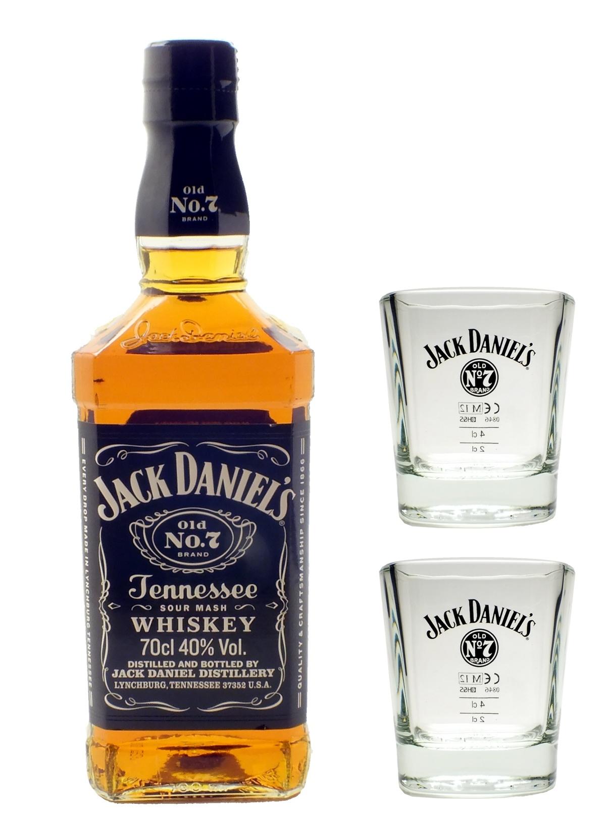 jack daniel s whiskey 40 0 7l 2 original gl ser tumbler set geschenkidee ebay. Black Bedroom Furniture Sets. Home Design Ideas
